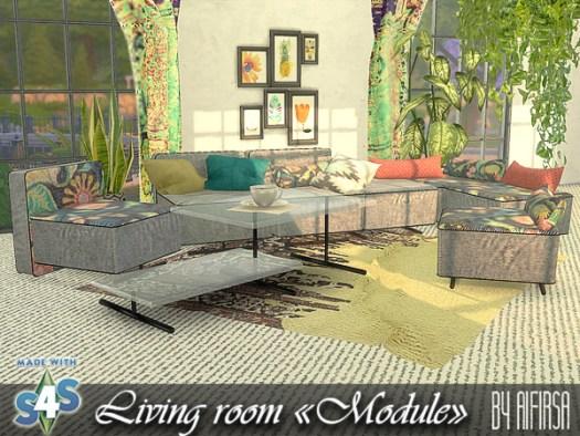 Module livingroom at Aifirsa image 565 Sims 4 Updates