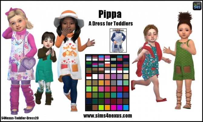 Pippa dress by SamanthaGump at Sims 4 Nexus image 566 670x402 Sims 4 Updates