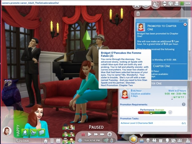 The Selvadoradese Owl Career By Asiashamecca At Mod The