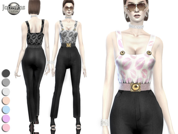 Sims 4 Nebulea outfit 2 by jomsims at TSR