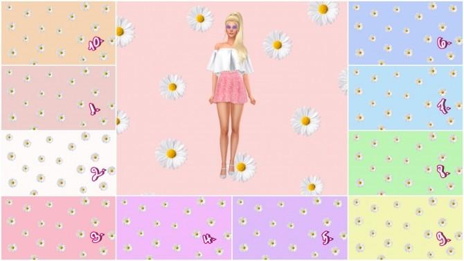 Sims 4 Daisy CAS Backgrounds at Katverse