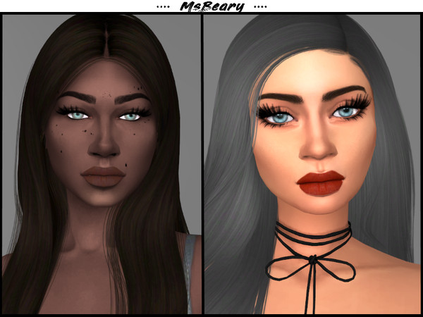 Sims 4 Subtle Lips by MsBeary at TSR