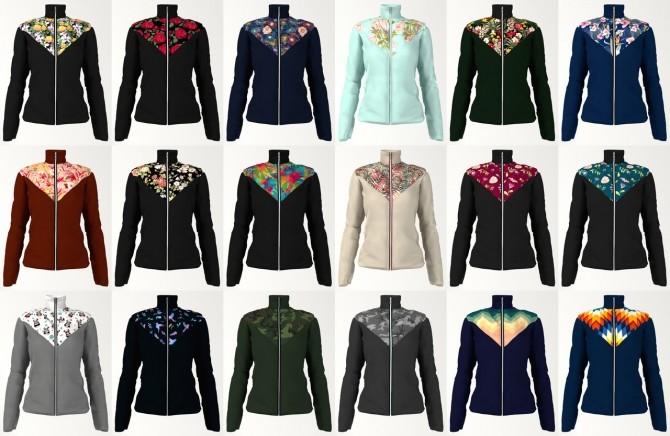 Sims 4 Sport jacket at LazyEyelids