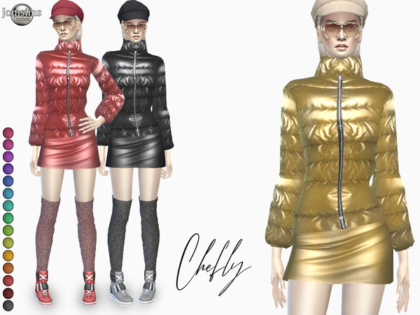 Chefly outfit by jomsims at TSR image 667 Sims 4 Updates