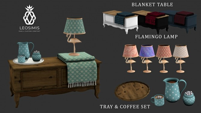 Sims 4 Welcome 2019 set (P) at Leo Sims