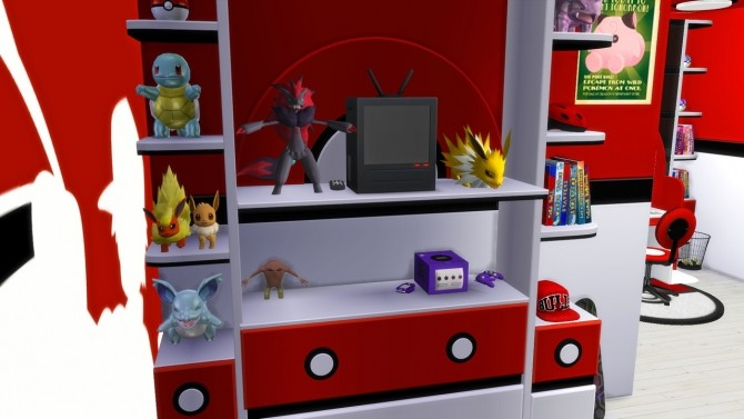 Pokemon Room At Modelsims4 187 Sims 4 Updates