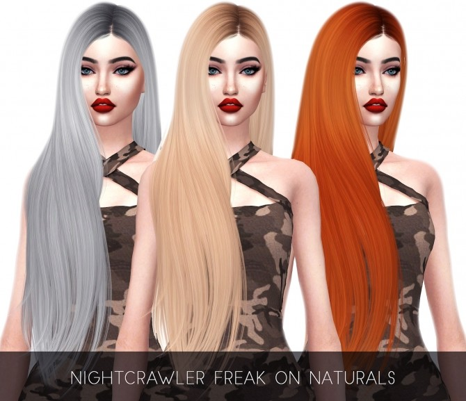 Nightcrawler Freak On Naturals Hair at Kenzar Sims image 686 670x577 Sims 4 Updates