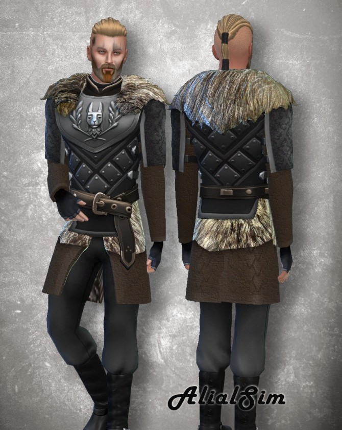 Viking Costume at Alial Sim image 689 670x841 Sims 4 Updates