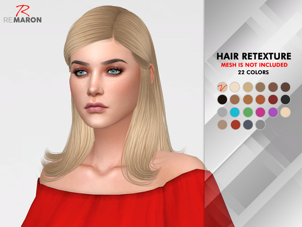 Jenna Hair Retexture by remaron at TSR image 69 Sims 4 Updates