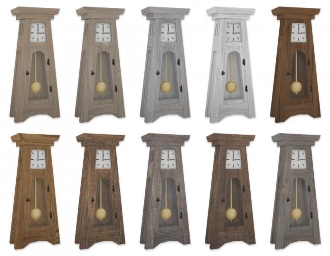 Sims 4 Grandfather Clock at SimPlistic