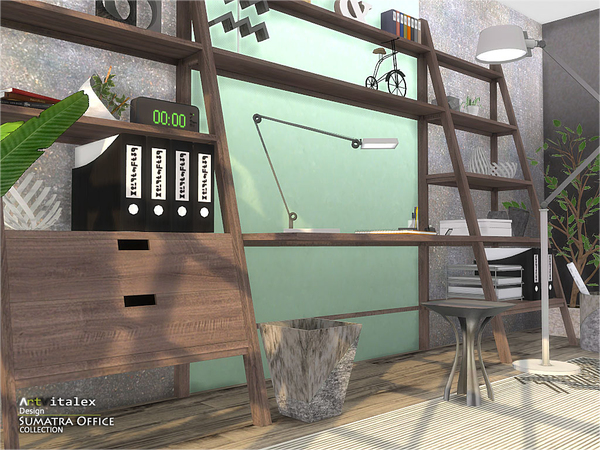 Sumatra Office by ArtVitalex at TSR image 70 Sims 4 Updates