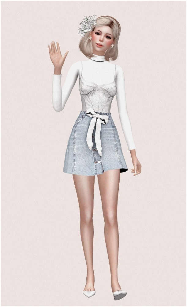 Yui at SilwerMoon Sims image 706 611x1000 Sims 4 Updates