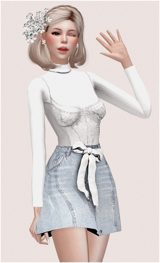 Yui at SilwerMoon Sims image 7110 611x1000 Sims 4 Updates
