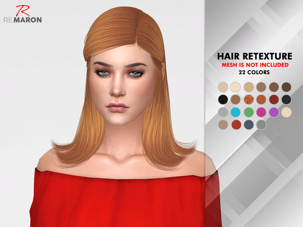 Jenna Hair Retexture by remaron at TSR image 712 Sims 4 Updates