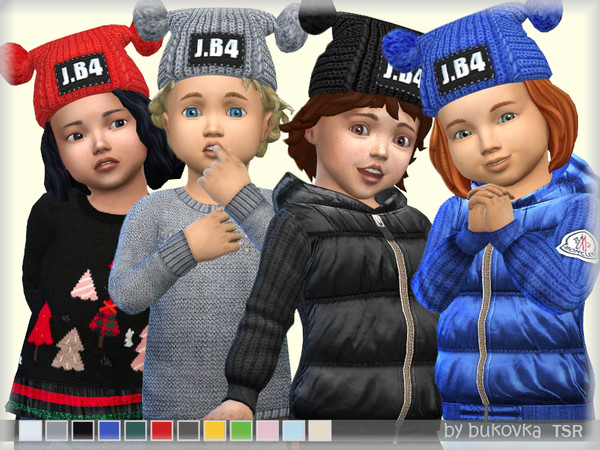 Hat Two Pompon by bukovka at TSR image 729 Sims 4 Updates