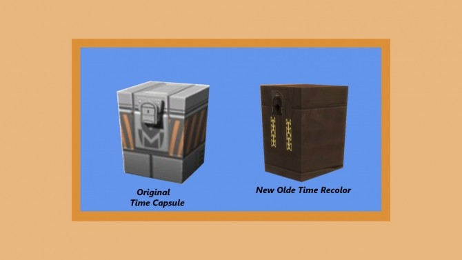 Sims 4 Ye Olde Time Capsule by Snowhaze at Mod The Sims