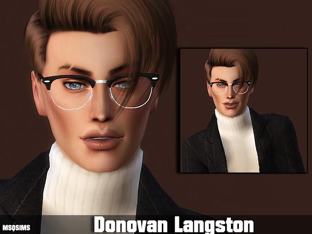 Donovan Langston at MSQ Sims image 751 Sims 4 Updates