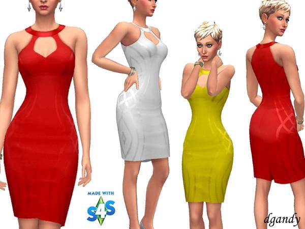 Sims 4 Dress B201901 2b 17 by dgandy at TSR
