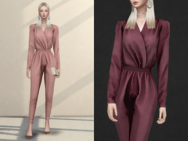 Sims 4 Jumpsuits by ChloeMMM at TSR