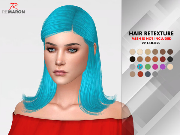 Jenna Hair Retexture by remaron at TSR image 812 Sims 4 Updates