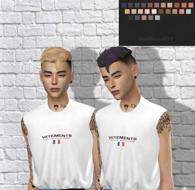 ON0125 Hair Retexture at SoulEvans997 image 8214 670x653 Sims 4 Updates