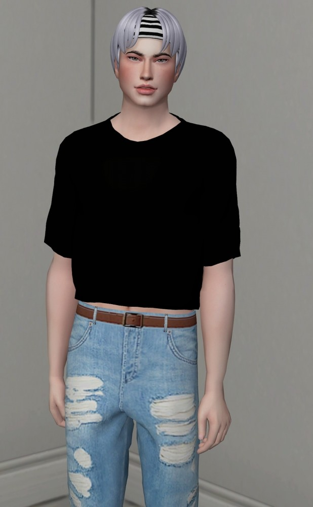 SWEET HAIR ALL AGES by Thiago Mitchell at REDHEADSIMS image 835 618x1000 Sims 4 Updates