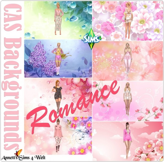 CAS Backgrounds Romance at Annett's Sims 4 Welt image 838 670x659 Sims 4 Updates