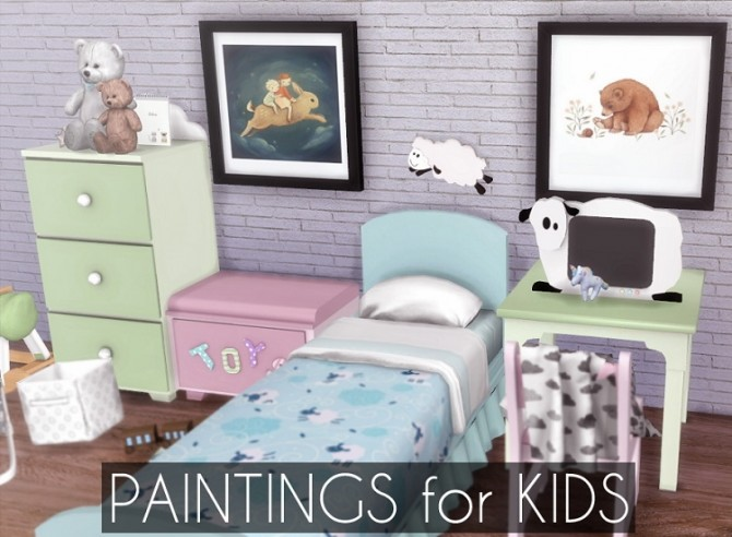 Pantings for Kids at Descargas Sims image 875 670x492 Sims 4 Updates