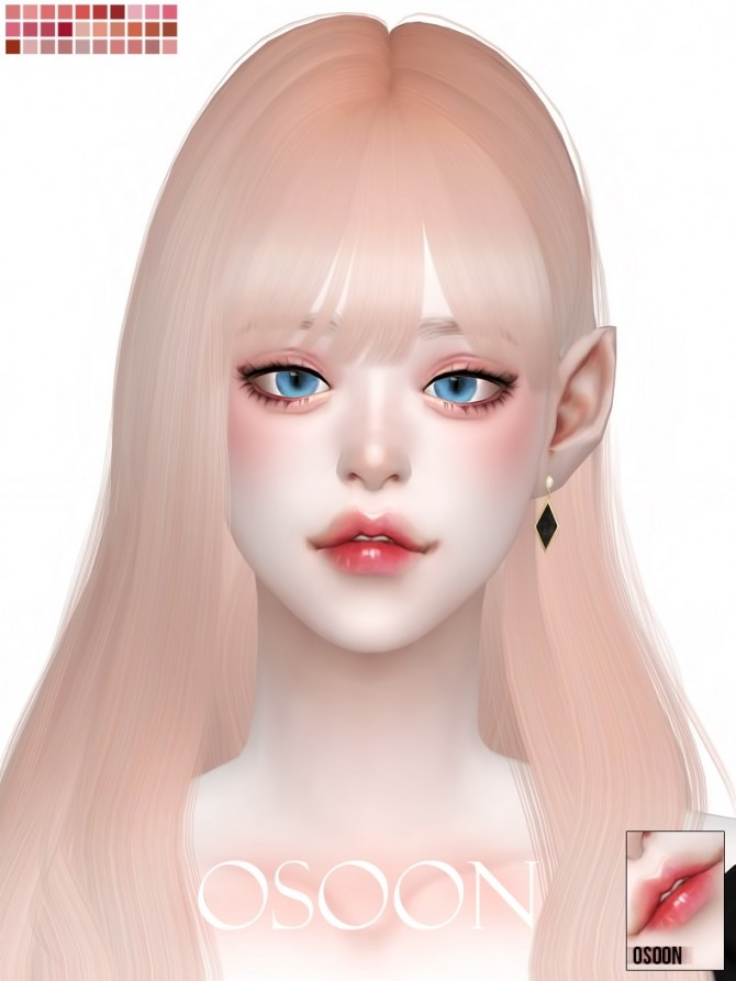 OS Lip 21 at Osoon image 8817 670x893 Sims 4 Updates