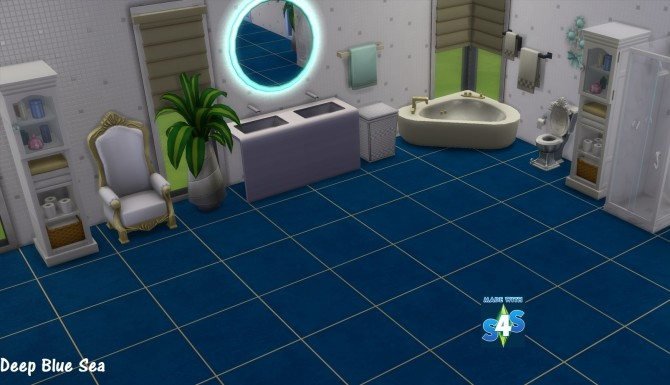 Sims 4 Celebrity Tile 14 Colours by wendy35pearly at Mod The Sims