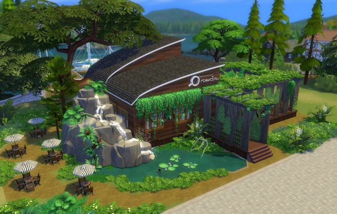 Sims 4 Cafe Amazon No CC by Oo NURSE oO at Mod The Sims