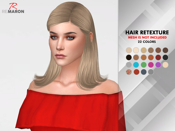 Jenna Hair Retexture by remaron at TSR image 912 Sims 4 Updates