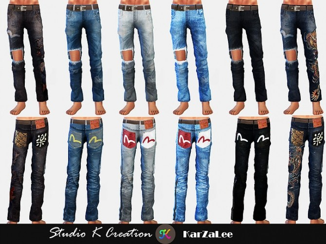 Giruto 70 ripped jeans at Studio K Creation image 913 670x502 Sims 4 Updates
