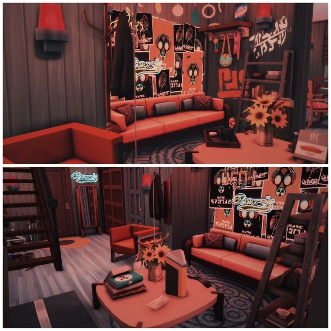 Sims 4 702 ZenView Vibe apartments at Wiz Creations