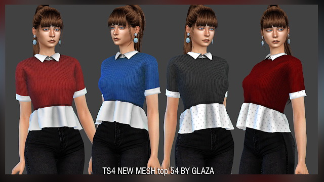 Top 54 at All by Glaza image 944 Sims 4 Updates