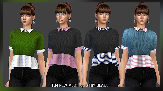 Top 54 at All by Glaza image 954 Sims 4 Updates