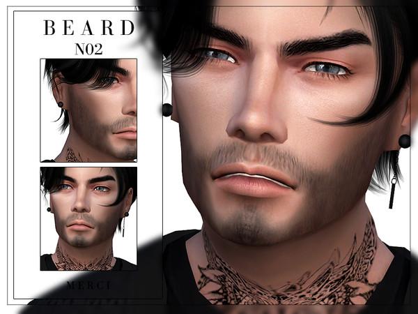 Beard N02 by Merci at TSR image 970 Sims 4 Updates