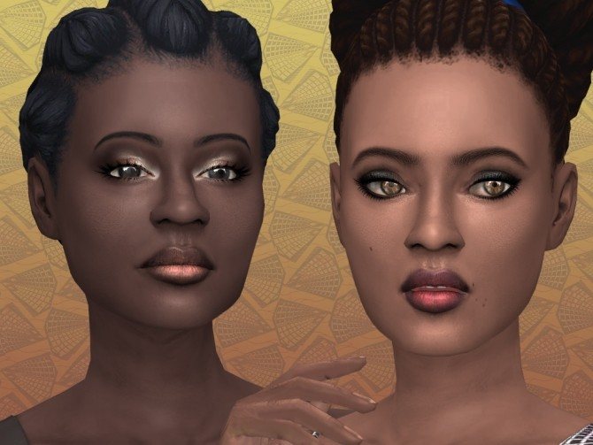 Ombre Lipstick with shine for Dark skintones by lilotea at Mod The Sims image 976 670x503 Sims 4 Updates