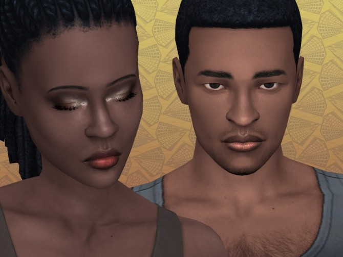 Ombre Lipstick with shine for Dark skintones by lilotea at Mod The Sims image 986 670x503 Sims 4 Updates
