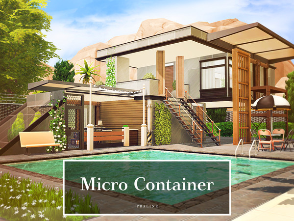 Micro Container by Pralinesims at TSR image 1016 Sims 4 Updates