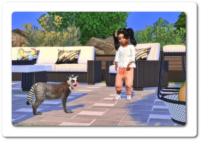 Sims 4 Blouse & Harem Pants at Sims4 Boutique