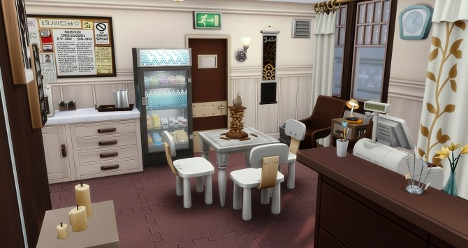 Sims 4 Modest accommodations at Simsontherope