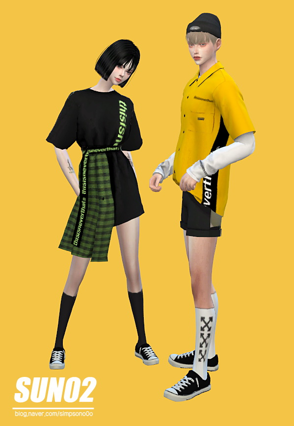 Sims 4 Designer outfit at SUN02