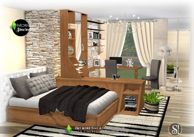 Sims 4 Morning Tea decor at SIMcredible! Designs 4