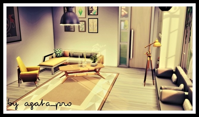Sims 4 Sunny day space at Agathea k
