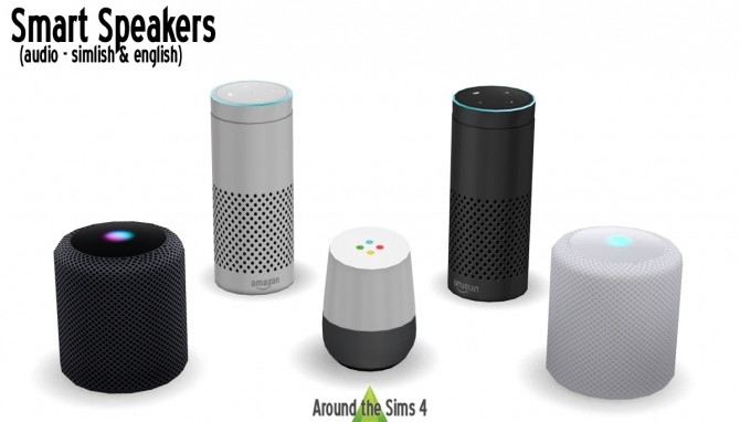 Smart Speakers at Around the Sims 4 image 111 670x382 Sims 4 Updates