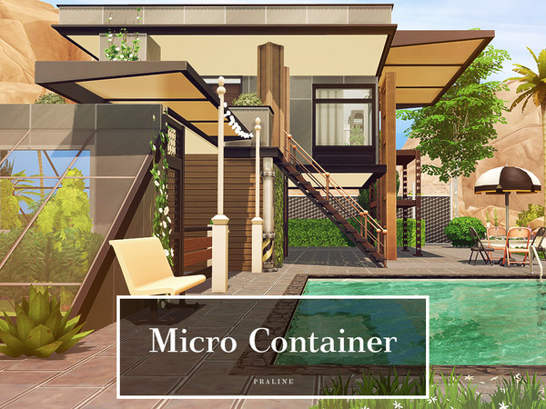 Micro Container by Pralinesims at TSR image 1115 Sims 4 Updates