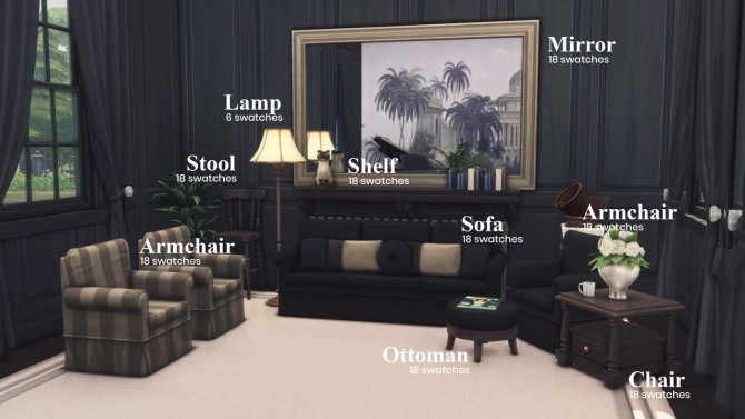 The Heritage Collection At Harrie 187 Sims 4 Updates