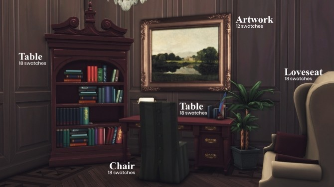 The Heritage Collection at Harrie image 1142 670x377 Sims 4 Updates
