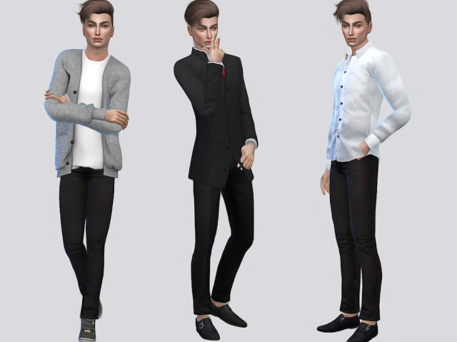 Sims 4 Cale Fraley at MSQ Sims